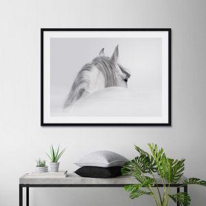 The White Horse | Unframed Art Print