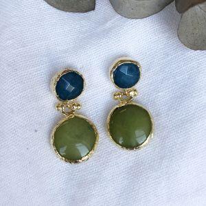 Theia Double Drop Earrings