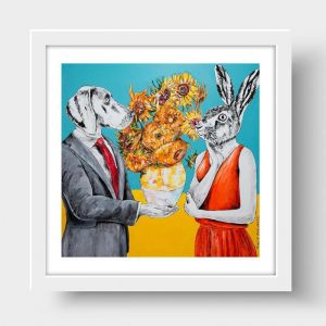 They Thought Vincent Made the World Brighter | Limited Edition Giclee Print | by Gillie and Marc