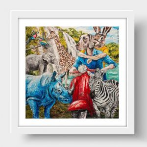 They Would Love All Creatures Big and Small | Limited Edition Giclee Print | by Gillie and Marc