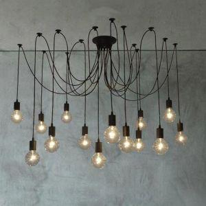 Thomas Edison Bulb Chandelier Pendant Light Replica | 14 Heads
