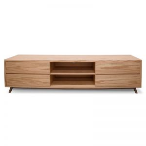 Thor Scandinavian TV Entertainment Unit - Lowline | Natural | Interior Secrets