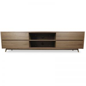Thor Scandinavian TV Entertainment Unit - Lowline | Walnut | Interior Secrets