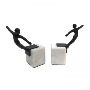 Thorpe Swimmer Bookend Set | CLU Living