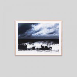 Thundering Ocean   Framed Photographic Print