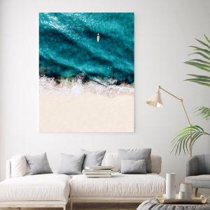 Tick Follow Tock | Canvas Wall Art by Beach Lane