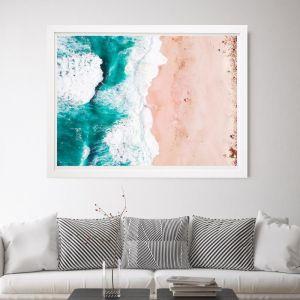 Tidal | Framed Wall Art by Beach Lane