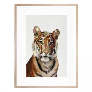 Tiger 4 | Framed Print By United Interiors