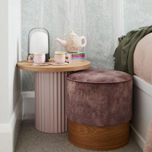 Timber Base Ottoman | The Cullin Design