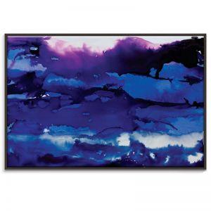 Framed Canvas Print in Black