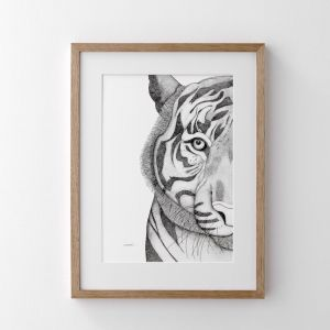 Timothy the Tiger | Print