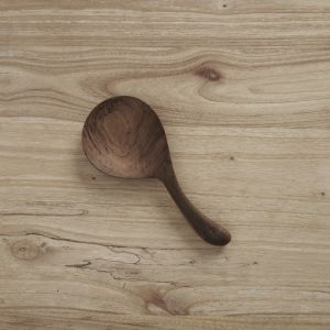 Tio Teak Short Serving Spoon l Pre Order