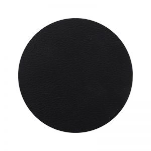 Togo Faux Leather Coaster Set | Black | CLU Living
