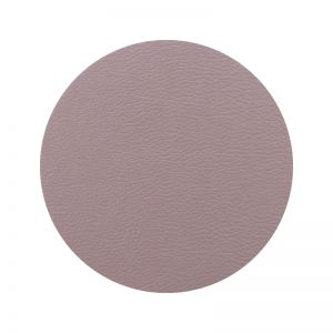 Togo Faux Leather Coaster Set | Mauve | CLU Living
