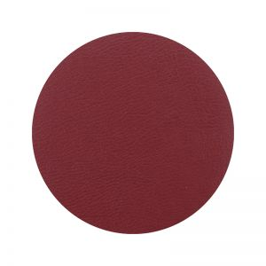 Togo Faux Leather Coaster Set | Red | CLU Living