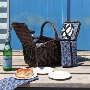 Torquay | 4 Person | Traditional Wicker Picnic Basket