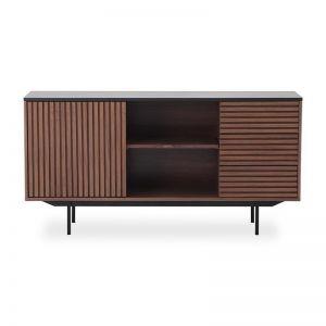 Tozzi Sideboard 160Cm | Walnut/Black
