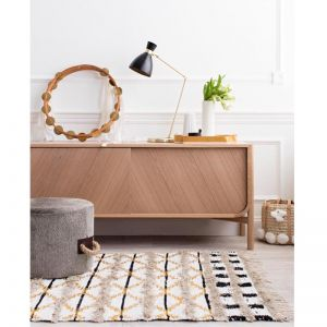 Trails Rug by Amigos De Hoy | Cream