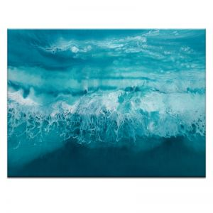 Tranquill Ocean | Martine Vanderspuy | Canvas or Print by Artist Lane