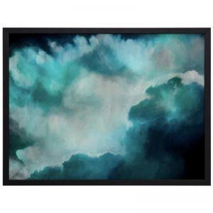 Transcend Charged | Framed Art Print