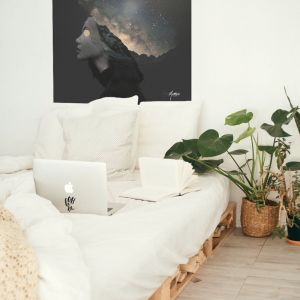 Traveller Of The Mind | Art Print