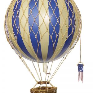 Travels Hot Air Balloon Medium Size | Blue