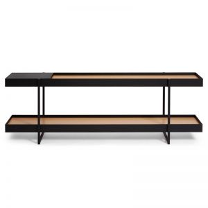 Tray Storage Low Bookshelf | CLU Living