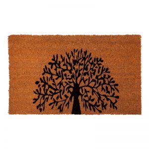 Tree Of Life PVC Backed Doormat | Welcome Mat | Entry Mat | Fab Habitat