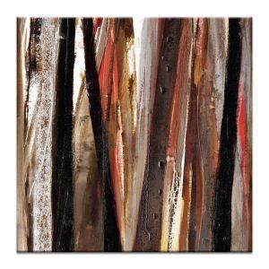 Treeline in Red #1 | Katherine Boland | Canvas by Artist Lane