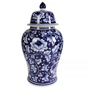 Trellis Ginger Jar Tall | Ceramic | by Dasch Design