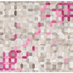 Trellis Rug by Art Hide | Pink