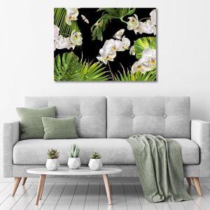 Tropical Orchid | Canvas Art Print | Various Sizes