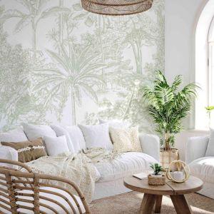 Tropicale | Sage | Wallpaper