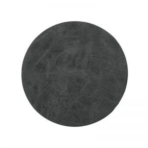 Truman Faux Leather Coaster | Set of 4 | Black