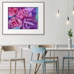 Tulips by Aida Taha | Ltd. Edition Print | Art Lovers Australia