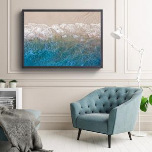 Turquoise Sea | Photographic Art Print by Sharyn Coffee