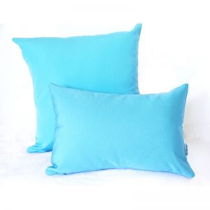 Turquoise | Sunbrella Fade and Water Resistant Outdoor Cushion | Outdoor Interiors