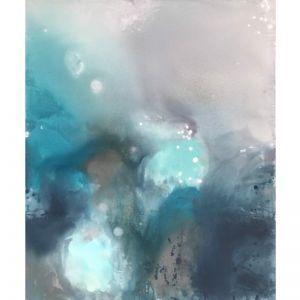 Turquoise Vibes by Kathleen Rhee   Original Artwork   Art Lovers Australia