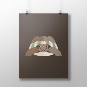 Turtle Poster | by Design by Mouse