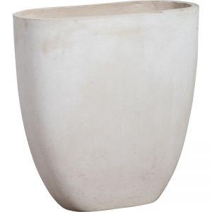 Tuscany 56x56cm Concrete Planter | Milky White | Schots