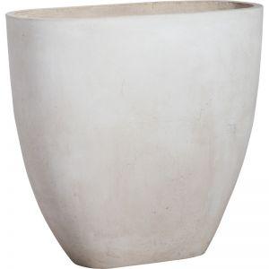 Tuscany 76x71cm Concrete Planter | Milky White | Schots
