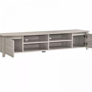 TV Cabinet Entertainment Unit | Lowline 180cm | White Oak