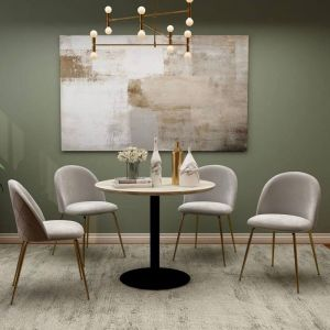 Tyler Mid-Century Design Round Dining Table