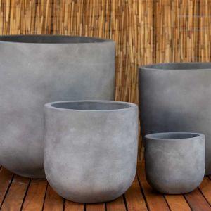 U Shaped Pot | Natural Grey