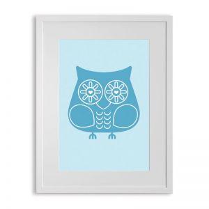 Ubabub Blue Hoot Print