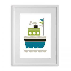 Ubabub Ship Ahoy Print
