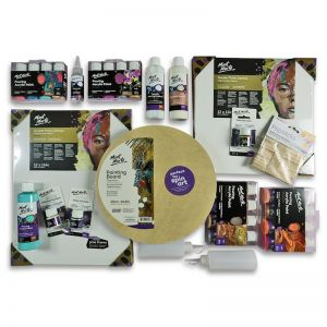 Ultimate Mont Marte Acrylic Pouring Fluid Art | 26 piece kit