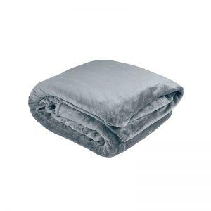 Ultraplush Blanket Steel Blue | Single Bed