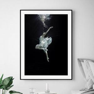 Underwater Ballerina | Unframed Art Print