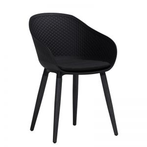 Unity Arm Chair | Dark Grey & Black